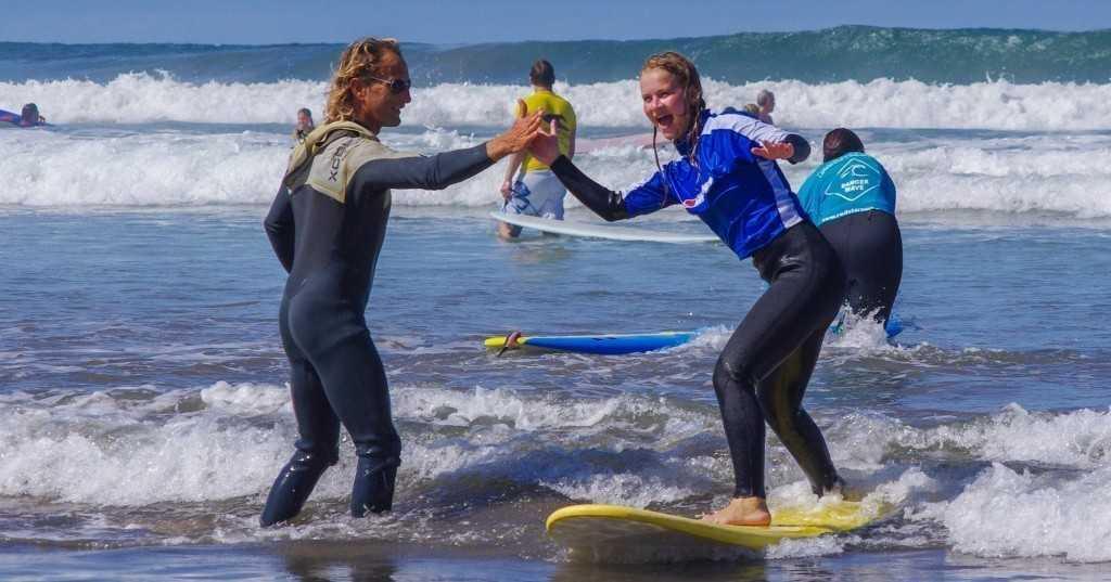 Surfing Etiquette Good vibes