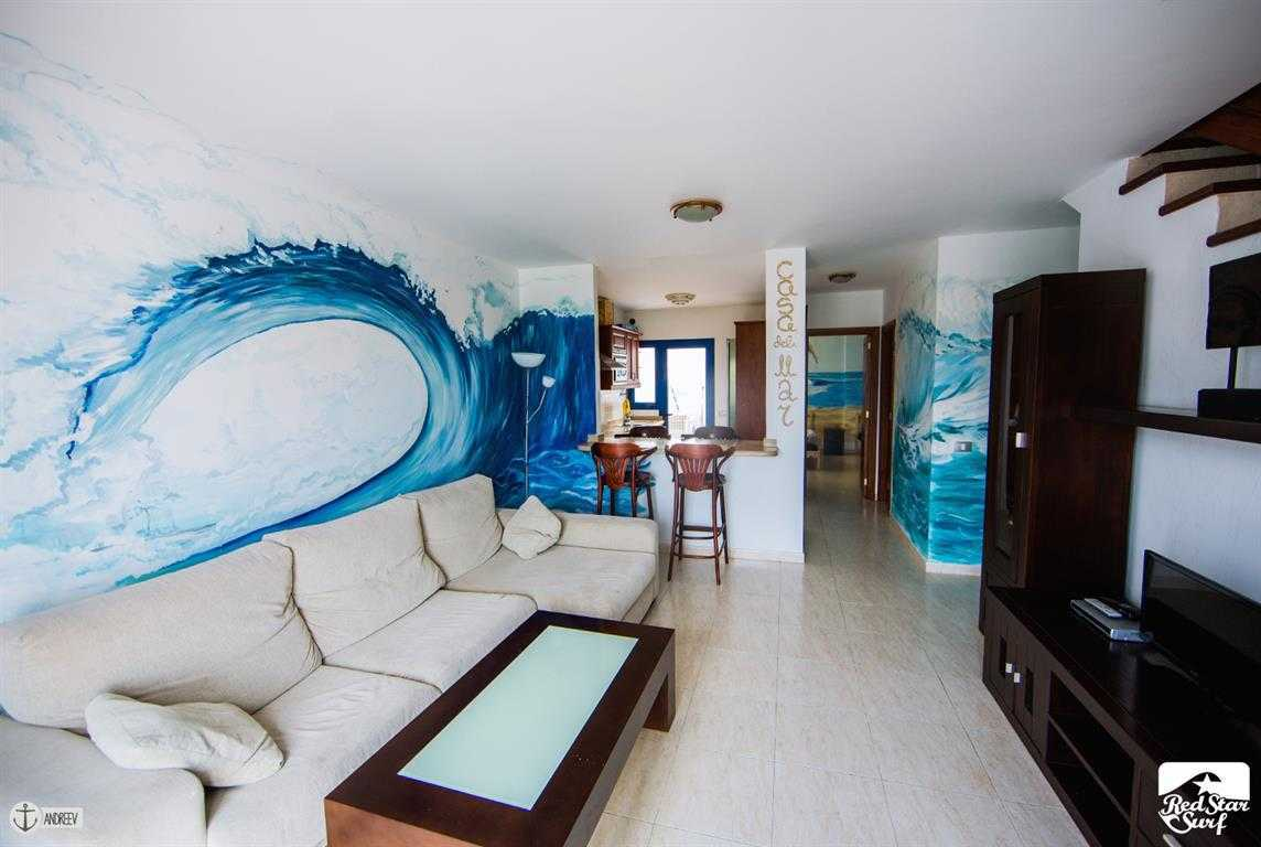 Accommodation in Famara, Lanzarote, Surf Camp, Surf Houses, Apartments