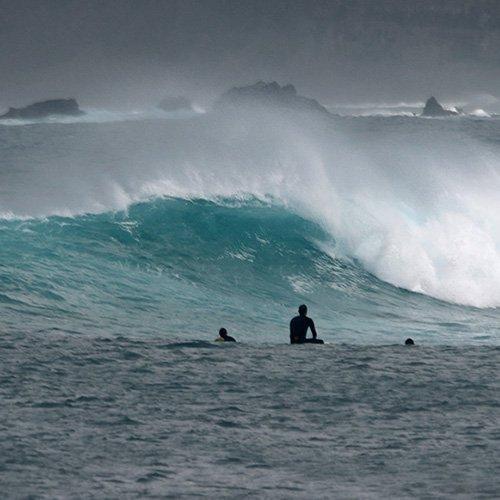 el barco surf spot lanzarote famara square