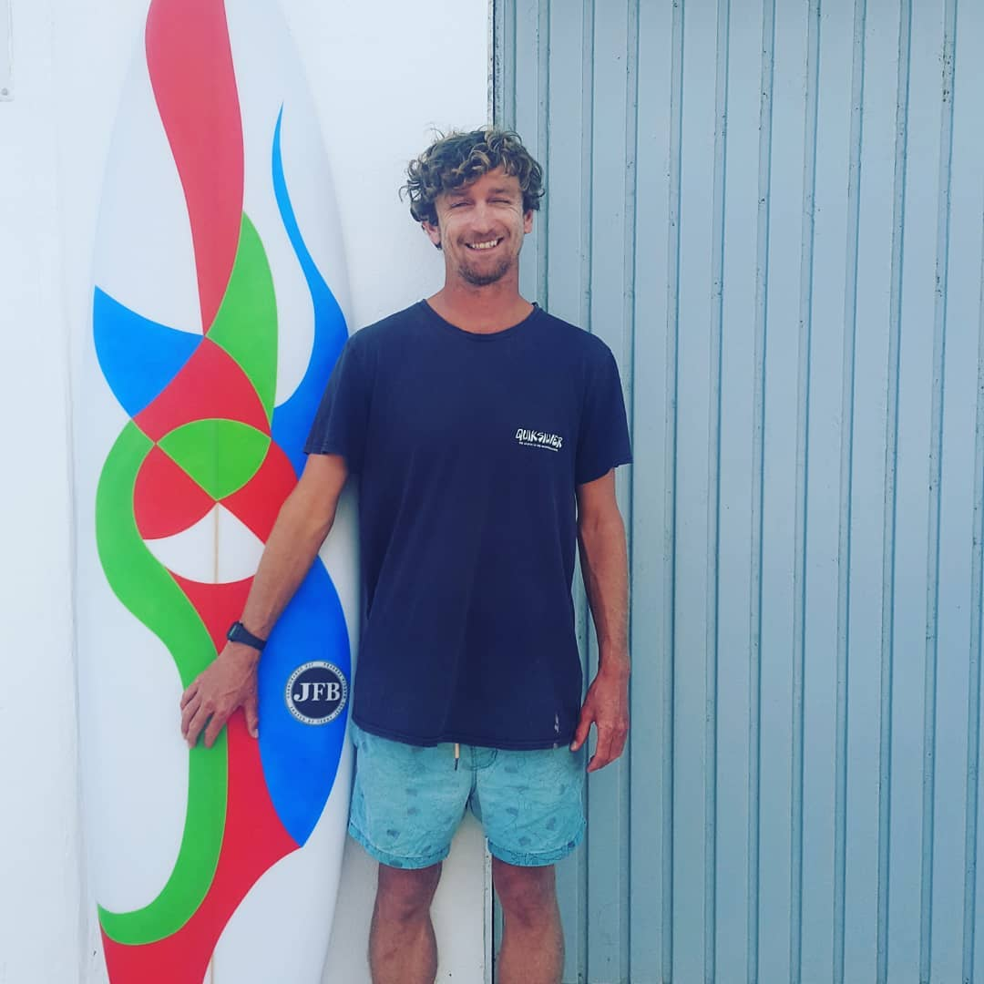 Dominic Surf Coach at Red Star Surf in Famara