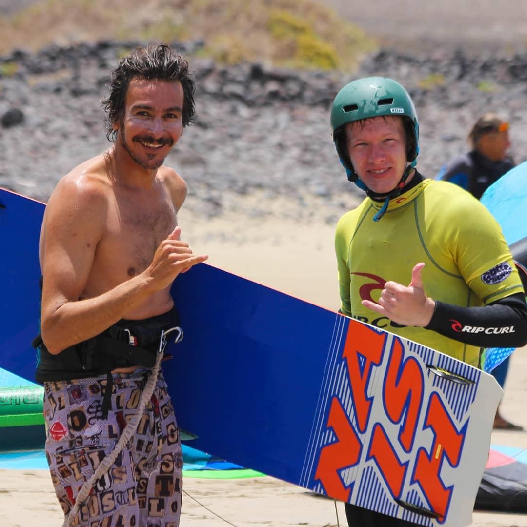 Juan Antonio kite and surf coach