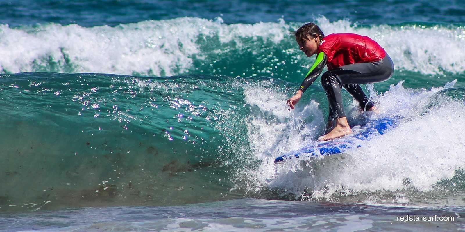 Progressez en surf grace aux cours de surf avancés sur le spot de Famara, Lanzarote
